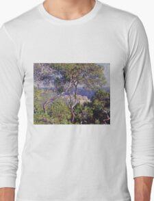 Claude Monet - Bordighera 1884  Impressionism . Famous paintings Long Sleeve T-Shirt