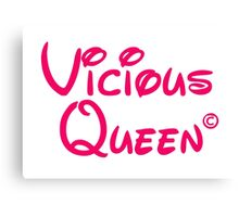 Vicious Queen Pink Canvas Print