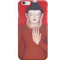 Red Buddha, Myanmar iPhone Case/Skin