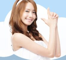 Yoona Bubble Sticker