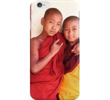 Duo, Myanmar iPhone Case/Skin