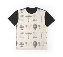 Butterflies and Balloons Graphic T-Shirt