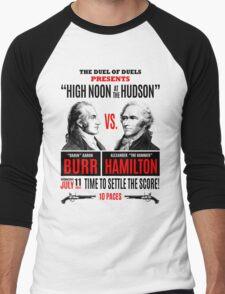 Burr vs Hamilton History Men's Baseball ¾ T-Shirt
