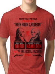 Burr vs Hamilton History Tri-blend T-Shirt