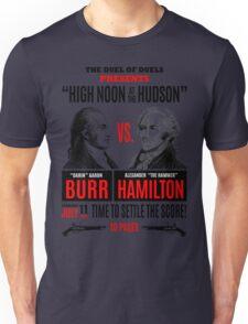 Burr vs Hamilton History Unisex T-Shirt