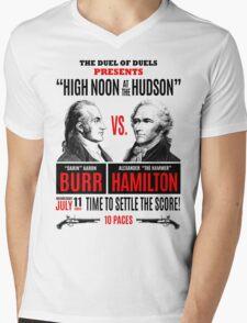 Burr vs Hamilton History Mens V-Neck T-Shirt