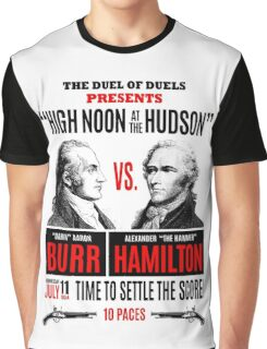 Burr vs Hamilton History Graphic T-Shirt
