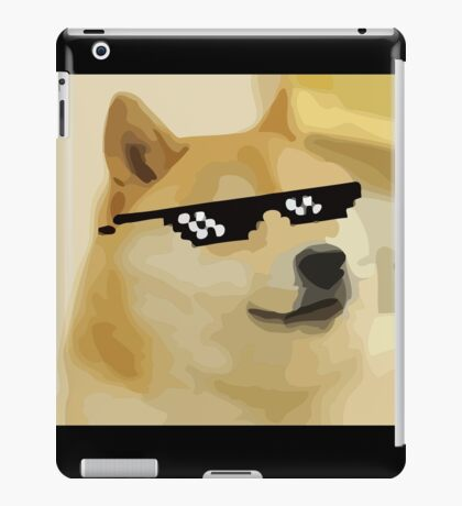 Mlg Doge iPad Case/Skin