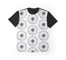 DAISY I - Summer Floral Print Graphic T-Shirt