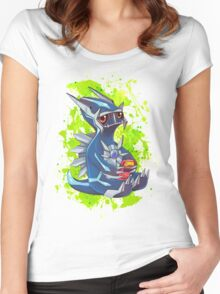 Gamer Dialga  Women's Fitted Scoop T-Shirt