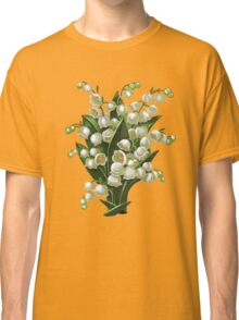 Lilies of the valley - acrylic painting Classic T-Shirt