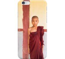 Serious Monk- Myanmar iPhone Case/Skin