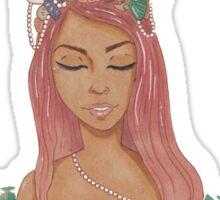 pink mermaid  Sticker