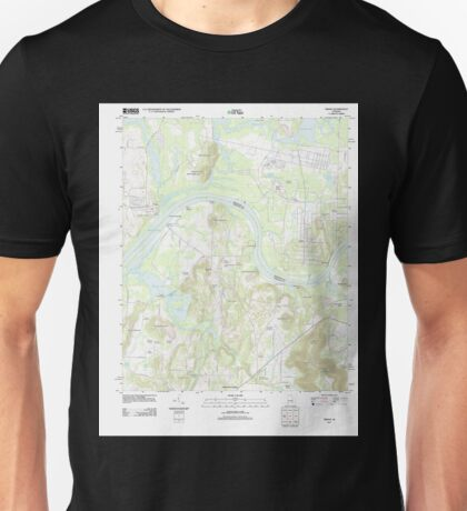 USGS TOPO Map Alabama AL Triana 20110921 TM Unisex T-Shirt