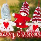 Merry Xmas - Felt & knitting 02 by garigots