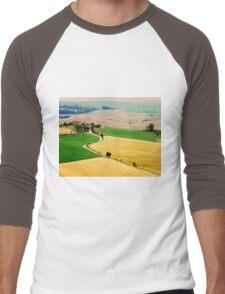 Tuscany summer Men's Baseball ¾ T-Shirt