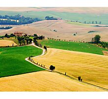 Tuscany summer Photographic Print