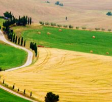 Tuscany summer Sticker