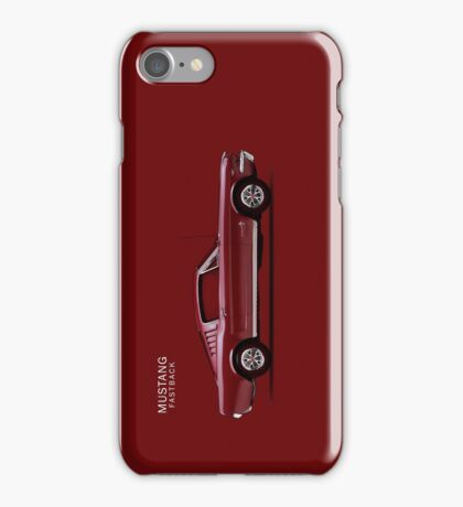 Mustang Fastback iPhone Case/Skin
