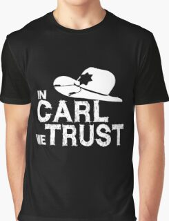 In Carl we Trust - Walking Dead Graphic T-Shirt
