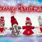 Merry Xmas - Felt & knitting 05 by garigots