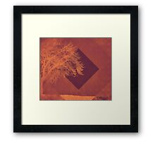 Sunset on the Plains Framed Print