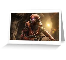 Halo 5 Vale Greeting Card