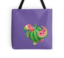 Water Melon Toucan Tote Bag