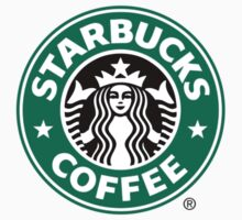Starbucks original logo R Baby Tee