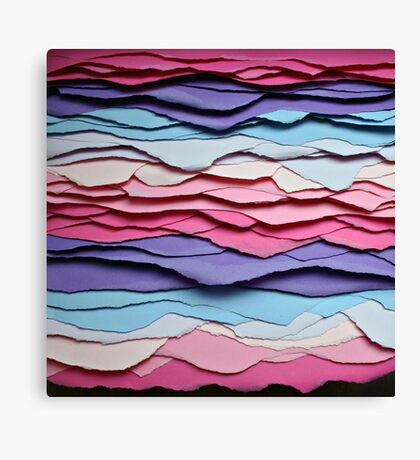 colour waves I Canvas Print