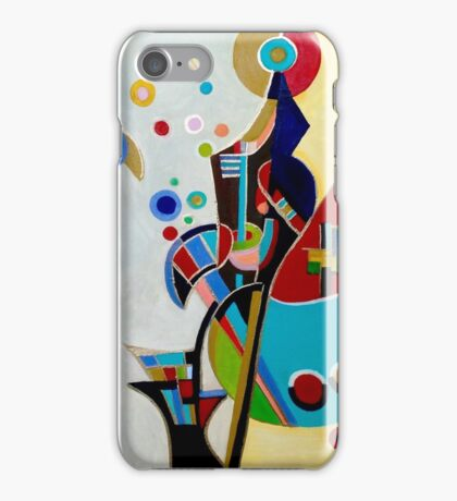 Waxing Wassily, by Alma L iPhone Case/Skin
