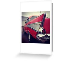 Classic Chevrolet Belaire Greeting Card