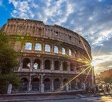 The Colosseum by MIRCEA COSTINA