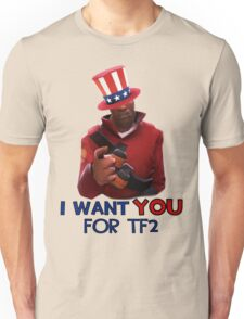 I want you for TF2! - Team Fortress 2 Unisex T-Shirt