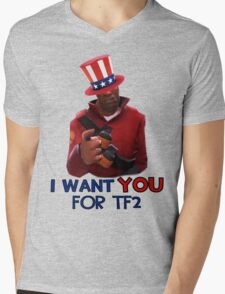 I want you for TF2! - Team Fortress 2 Mens V-Neck T-Shirt