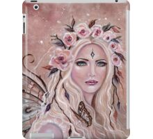 Philantha flower fairy by Renee Lavoie iPad Case/Skin