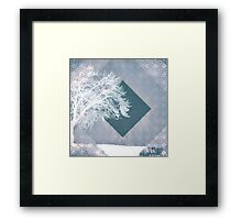 Monochrome Winter Framed Print