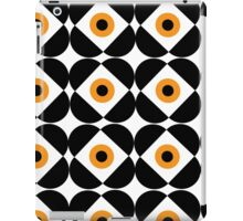Retro Flower - Orange iPad Case/Skin