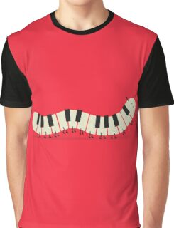 Caterpiano Graphic T-Shirt