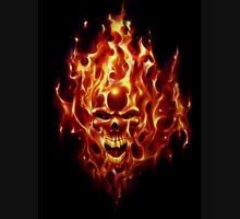 Flaming Skull Unisex T-Shirt