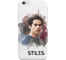 Stiles - Teen Wolf - Canvas iPhone Case/Skin