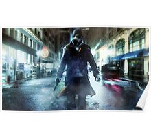 Aiden Pearce Watchdogs Poster