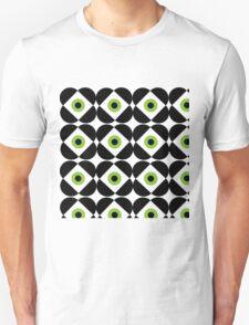Retro Flower - Lime Green Unisex T-Shirt
