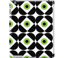 Retro Flower - Lime Green iPad Case/Skin
