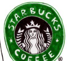 3 coffee cups Sticker