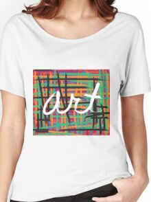 Art & Color Women's Relaxed Fit T-Shirt