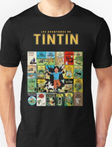 Tintin - Album Walk Unisex T-Shirt