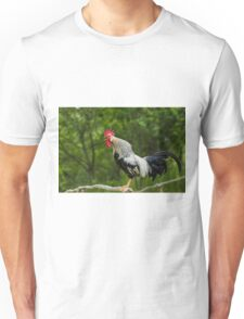 Crowing rooster Unisex T-Shirt