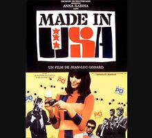 Made in USA - Jean-Luc Godard / Anna Karina Unisex T-Shirt