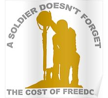 A Soldier Doesn't Forget Poster